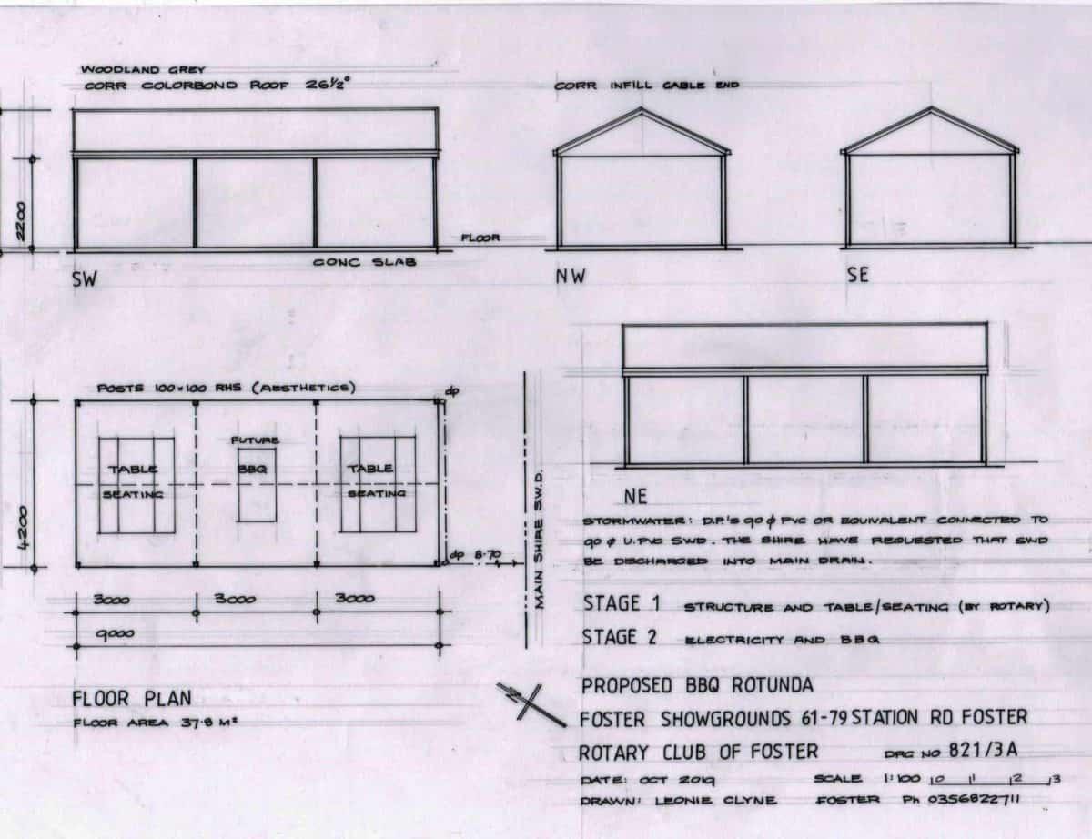 Showgrounds-Rotunda plan